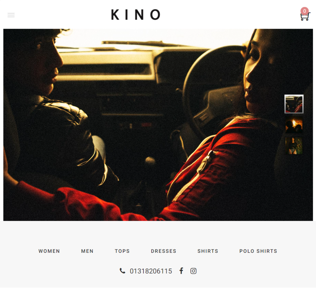 Kino Ecommerce By TRZ