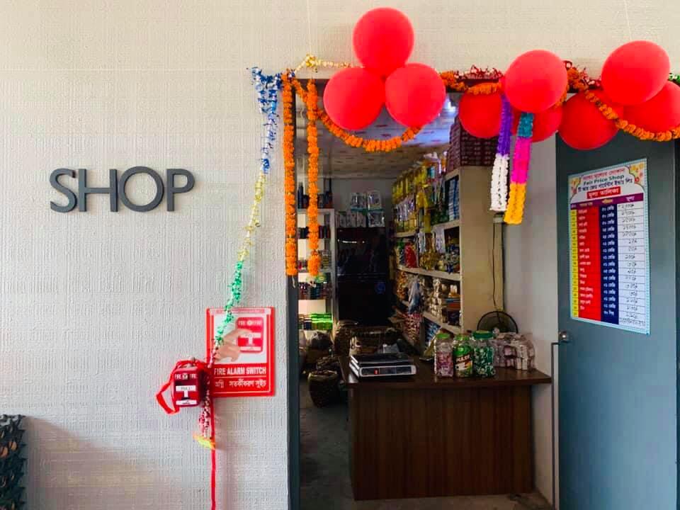 Opening of Fair Shop